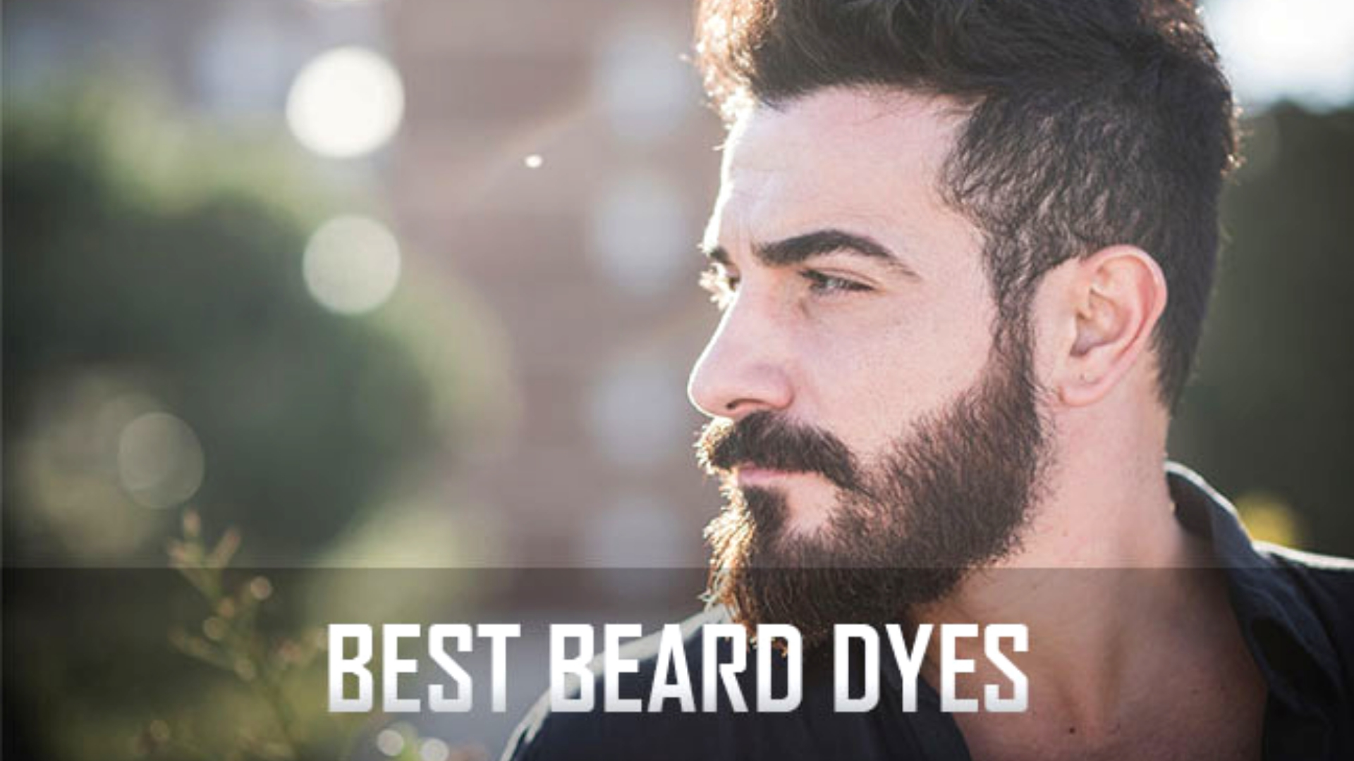 Easy to Use Men's Beard Dye Products